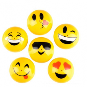 "1.75"" Emoticon Poppers 1dz"