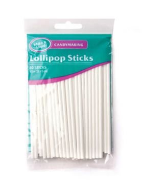 "4.5"" Paper Lollipop Sticks"