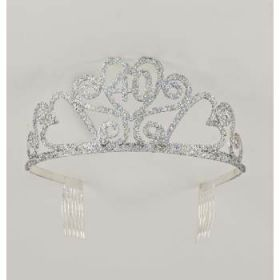 Glitter Tiara 40th Birthday