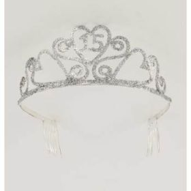 Glitter Tiara 15th Birthday