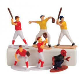Baseball Toy Figures