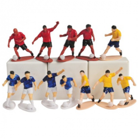Soccer Player Toy Figures