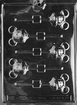 Mouse Chocolate Lollipop Molds