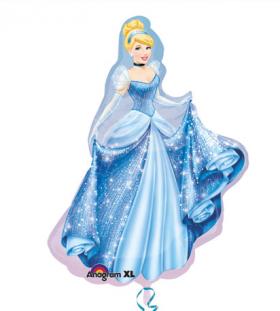 Cinderella Jumbo Foil  Balloon