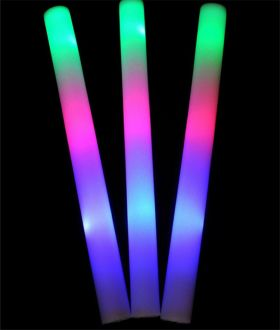 LED Foam Stick Baton 1 doz
