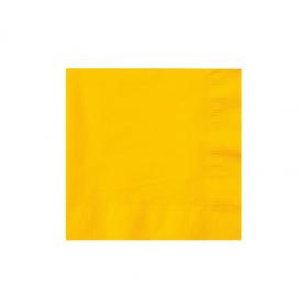 Yellow Sunshine  Beverage Napkins 50Ct