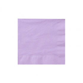 Lavender Beverage Napkins 50Ct