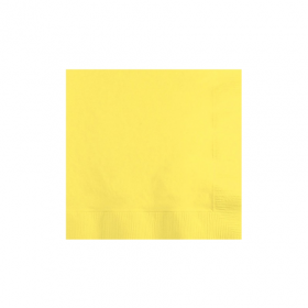 Light Yellow Beverage Napkins 50Ct