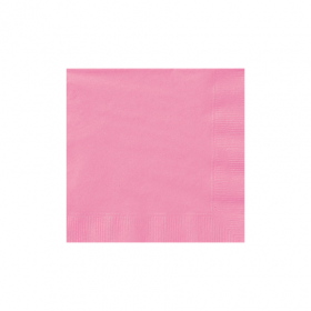 New Pink  Beverage Napkins 50Ct