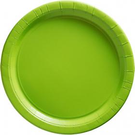 Kiwi Paper Dinner Plates 20ct