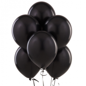 Black Balloons 72ct