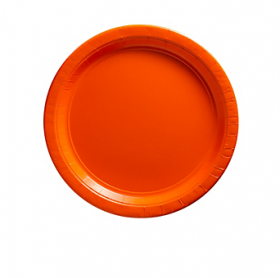 Orange Peel Dessert Plates 20ct