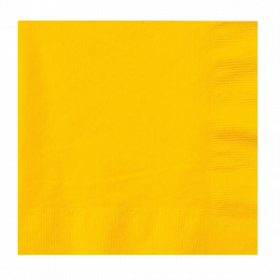 Yellow Sunshine Lunch Napkins 50Ct
