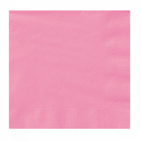 New Pink Lunch Napkins 50Ct