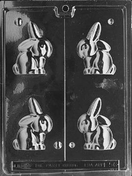 Earred Bunny Chocolate Mold