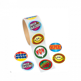 Paper Encouragement Roll of Stickers (100pcs/roll)