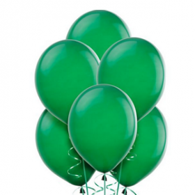 Festive Green Balloons 15ct