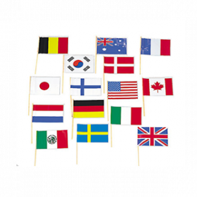 Flags of All Nations Flags (6dz)