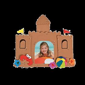 Sandcastle Picture Frame Magnet Craft Kit (12pcs)