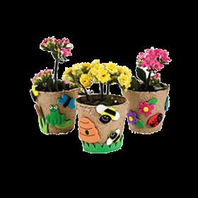 Garden Pot Craft Kit (1dz)