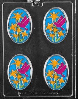 Hummingbird Plaque Chocolate Molds