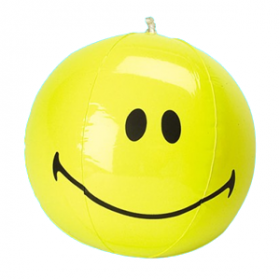 Inflatable Smiley Face Balls (1dz)