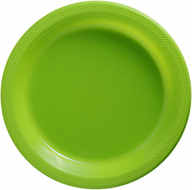 Kiwi Plastic Dinner Plates 20ct