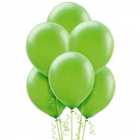 Kiwi Green Balloons 15ct