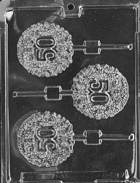 50th Chocolate Candy Mold