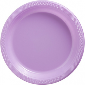 Lavenders Plastic Dinner Plates 20ct