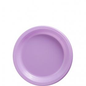 Lavenders Plastic Dessert  Plates 20ct
