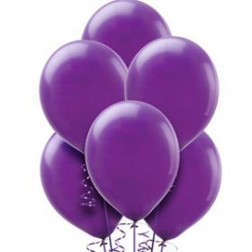 Purple Balloons 72ct