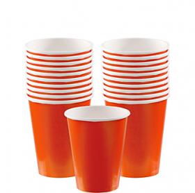 Orange Peel Paper Cups 20ct