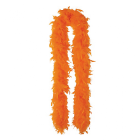 Feather Boa-Orange
