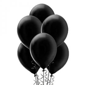 Black Pearl Balloons 72ct