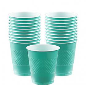 12oz  Robin's Egg Blue  Plastic Cups 20ct