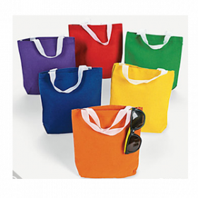 Primary Color Tote Bags