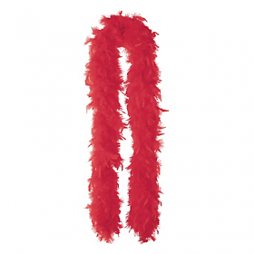 Feather Boa-Red
