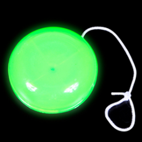 "2"" GLOW-IN-THE-DARK YO-YO  (2doz)"