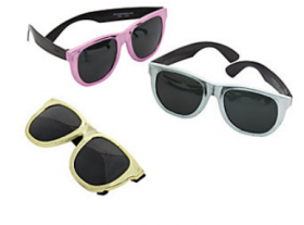 Rubber Metallic Sunglasses (1doz)