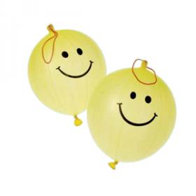 Smile Face Punch Balls (1dz)
