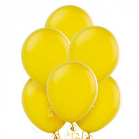 Sunshine Yellow Balloons 72ct