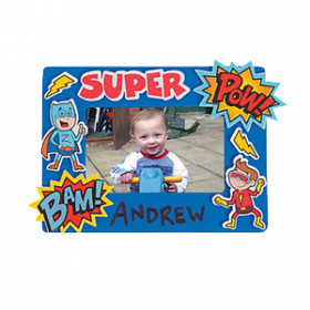 Foam Superhero Picture Frame Craft Kit