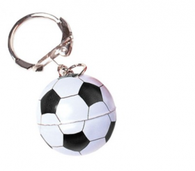 Metal Soccer Key chains 1doz