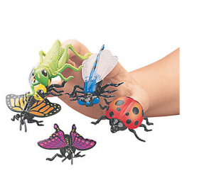 Insect Finger Puppets 1 doz