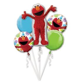 Sesame Street Elmo Foil Balloon Bouquet 5ct.