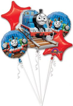 Thomas & Friends Foil Balloon Bouquet 5ct.