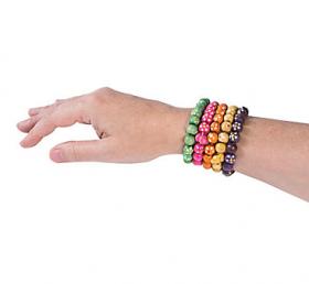 Daisy Beaded Bracelets 1doz