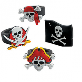 Rubber Pirate Rings