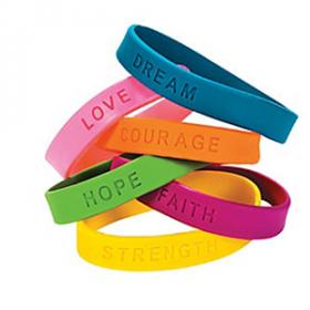 Inspirational Sayings Bracelets